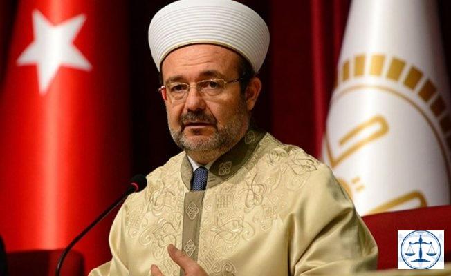 Diyanet İşleri Başkanı Mehmet Görmez emekliye ayrıldı