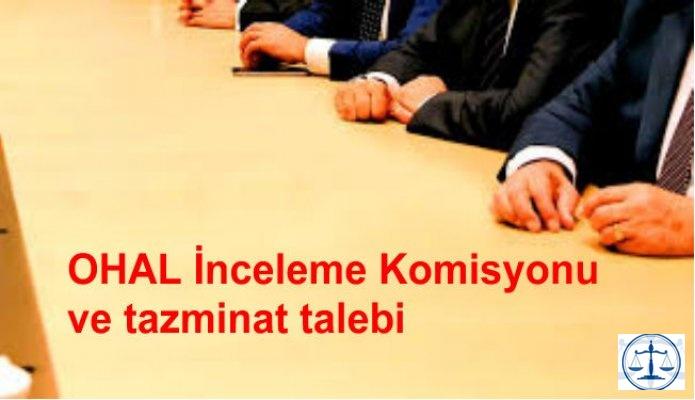 OHAL İnceleme Komisyonu ve tazminat talebi