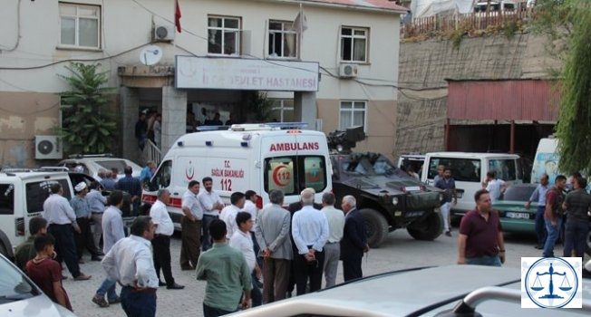 Şemdinli'deki darp iddiasında 1 polis açığa alındı