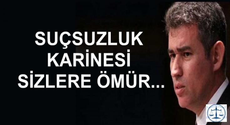 SUÇSUZLUK KARİNESİ SİZLERE ÖMÜR...
