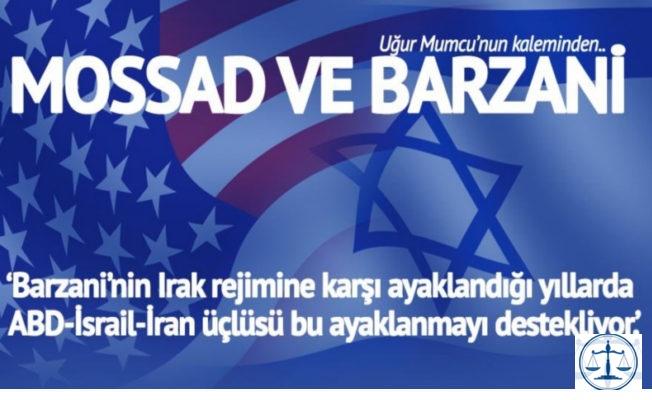 CIA ve Mossad ile Barzani ailesi ilişkisi