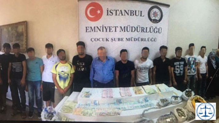 Çocukları dilendiren çete üyeleri tutuklandı!