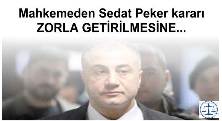 Mahkemeden Sedat Peker kararı
