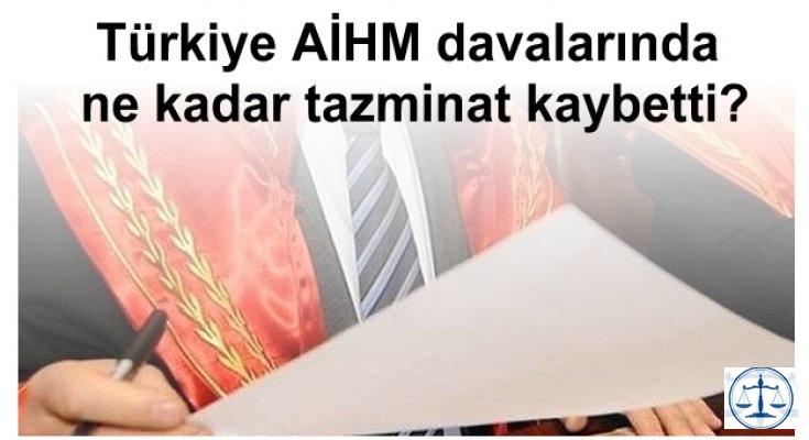 Türkiye AİHM davalarında ne kadar tazminat kaybetti?