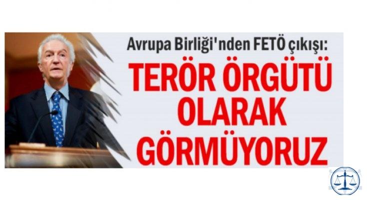 Avrupa Birliği'nden FETÖ çıkışı: Terör örgütü olarak görmüyoruz