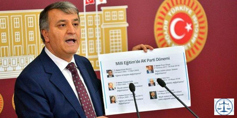 HDP'li vekil: 'Milli Eğitim Bakanı sınava kadar TV'lere çıkmasın'