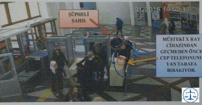 Adliyede hırsızlık: Bulup serbest bıraktılar