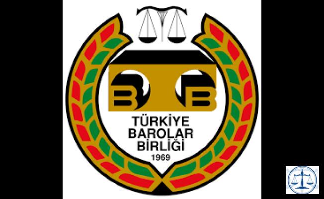 Türkiye Barolar Birliğinden Olağanüstü Toplantı çağrısı