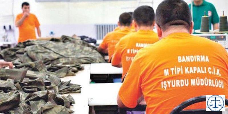 50 binden fazla mahkûm 180 iş kolunda üretim yapıyor