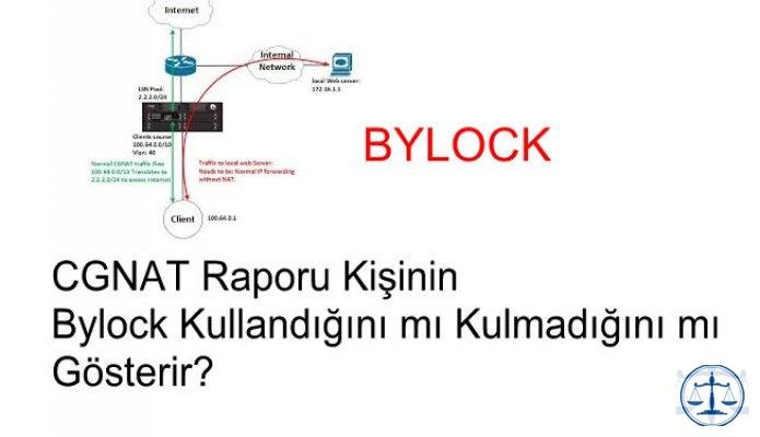 BTK CGNAT raporları kişinin bylock kullandığının kanıtı mıdır?