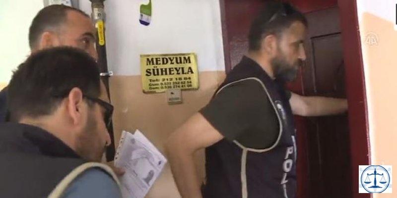 Ankara'da 'falcı, medyum ve hoca' operasyonu