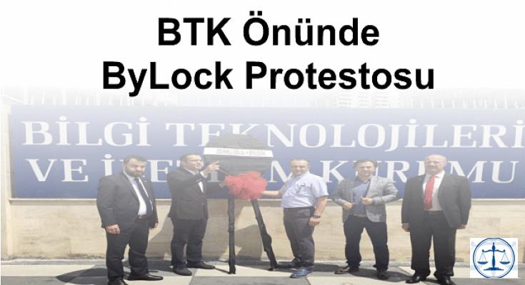 BTK Önünde ByLock Protestosu