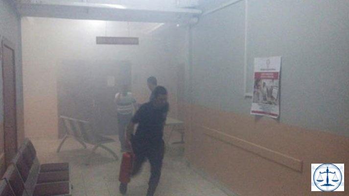 Niğde Adliyesi'ndeki yangına soruşturma başlatıldı