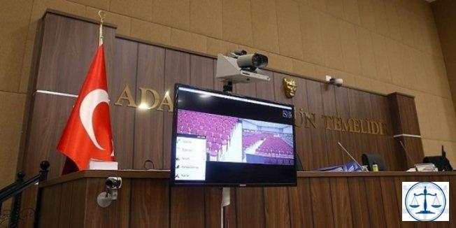 Hacze giden avukata hakaret eden sanığa hapis cezası
