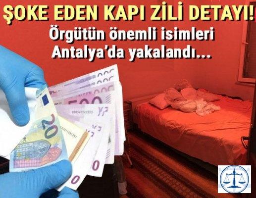 Şoke eden kapı zili detayı! Örgütün önemli isimleri Antalya'da yakalandı…