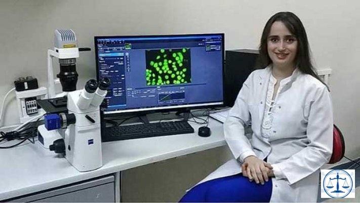 Tıp öğrencisinin örümcek ağıyla kanser tedavisi projesine ödül