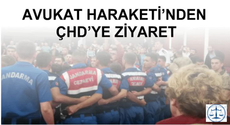 AVUKAT HARAKETİ'NDEN ÇHD'YE ZİYARET