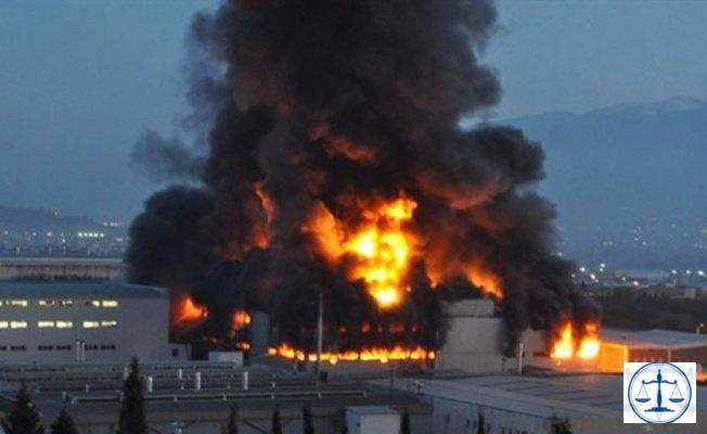 Sigorta şirketleri fabrika yangınları için harekete geçti
