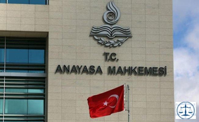 24 Ekim 2018 Tarihli Resmi Gazete Yayımlanan Anayasa Mahkemesi Kararları