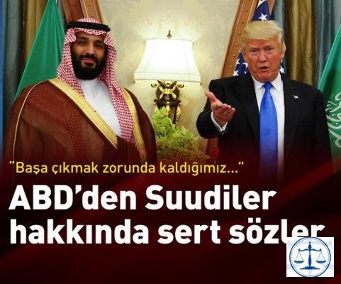 """ABD'li senatör: """"Suudiler başa çıkmak zorunda kaldığımız en ahlaksız hükümet"""""""