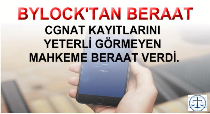 Ankara'da ByLock'tan İlk Beraat Kararı Verildi
