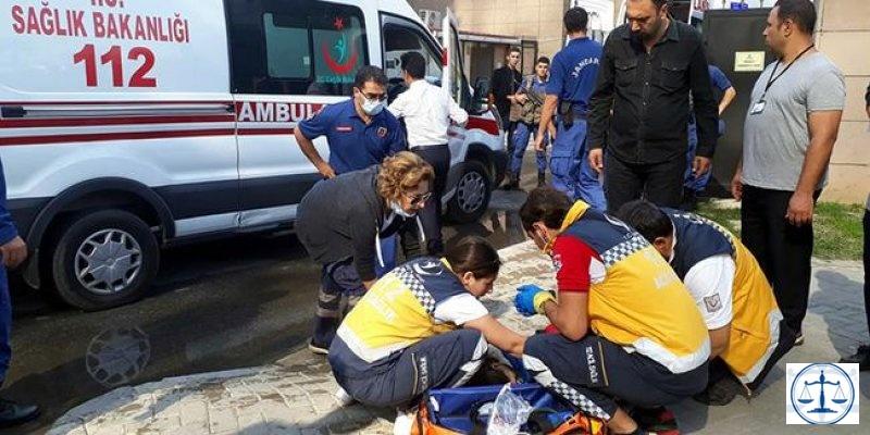 İzmir Adliyesi boşaltıldı: 1'i ağır 29 kişi gazdan etkilendi
