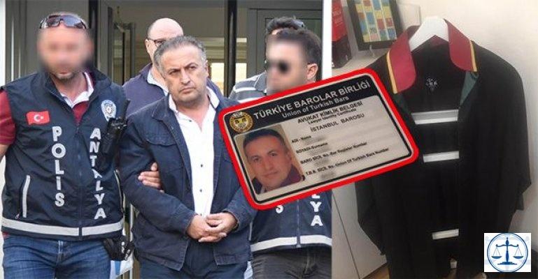 Sahte avukat kimliği ile avukatlık ofisi açıp dolandırmış