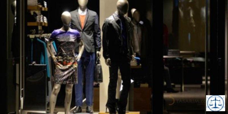 Ünlü giyim firmasına haciz; elbiseler icradan satışta