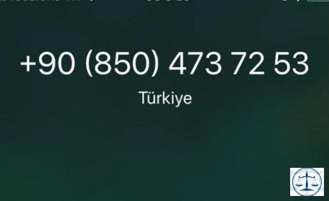 08504737253 no'lu hattan arama alıyorsanız dikkat