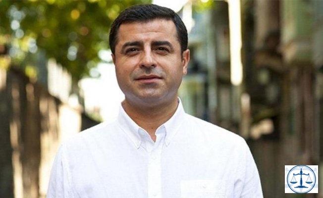 Demirtaş'tan yeni açıklama: Hükümetin AİHM hamlesi ortaya çıktı