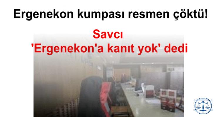 Savcı 'Ergenekon'a kanıt yok' dedi