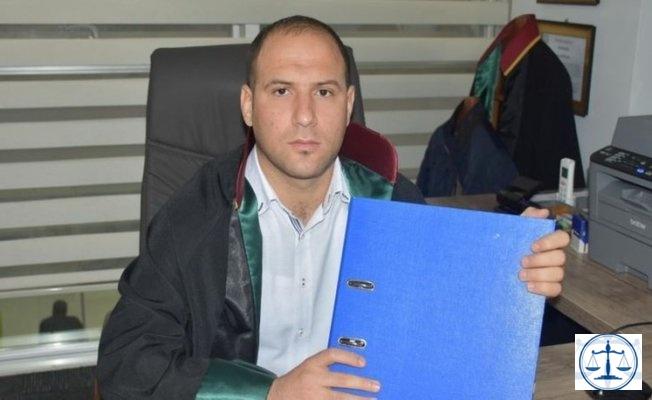 Klasör silah sayıldı, avukat cezaevine alınmadı