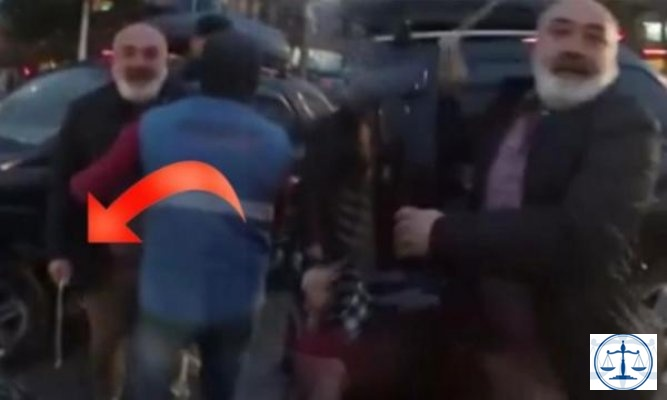 Şişli'de coplu saldırı: O anlar kamerada