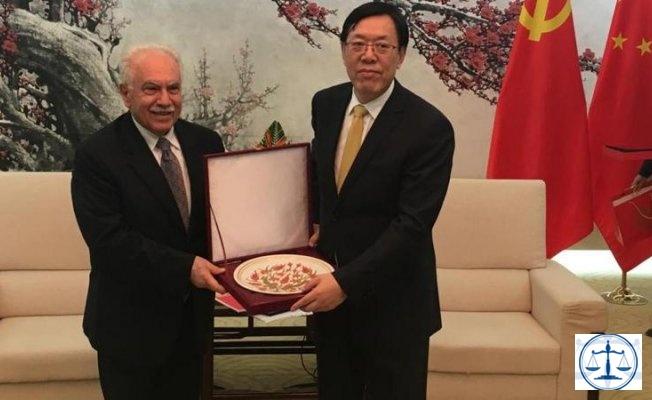Çin'den Perinçek'e teşekkür