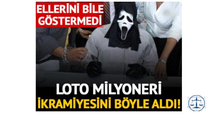 Lotodan 1 milyon sterlin kazanan talihli kimliğini gizlemek için ikramiyeyi böyle aldı