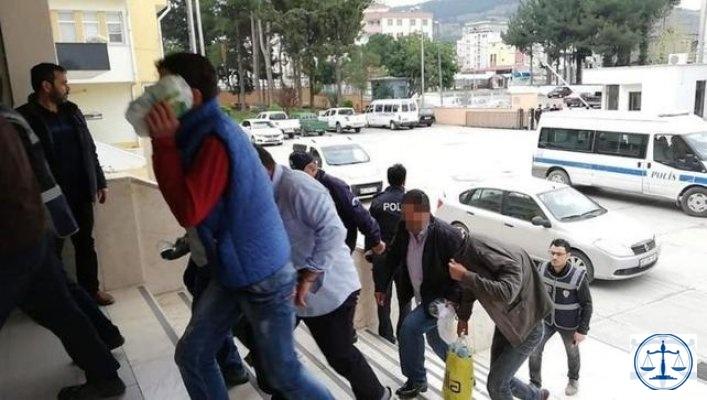 14 yaşındaki çocuğu istismarla suçlanan 13 kişi tutuklandı
