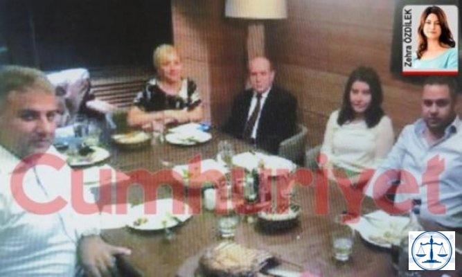 Zindaşti bombası! Burhan Kuzu 'Tanımam' dediği uyuşturucu baronuyla yemekte...