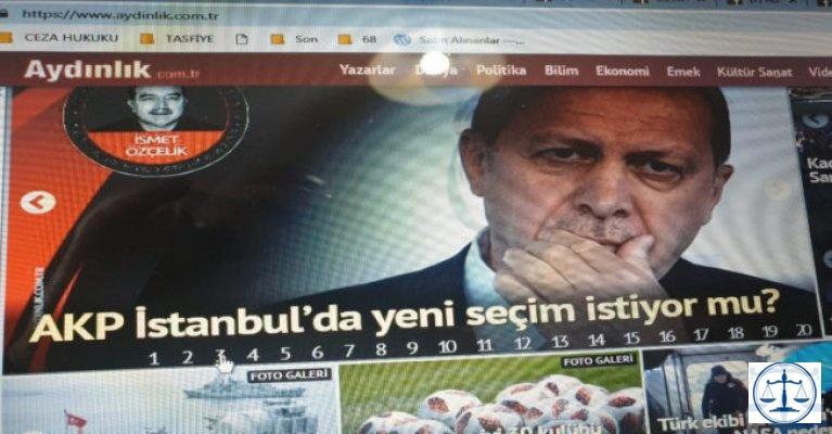 AKP İstanbul'da yeni seçim istiyor mu?