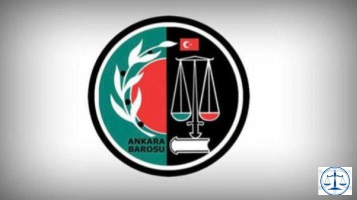 Ankara Barosu: Erdoğan'ın sözleri kabul edilemez