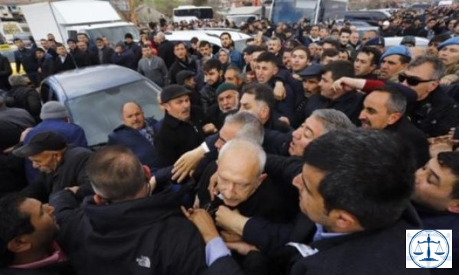 Ankara Valiliği'nden Kılıçdaroğlu'na saldırıya skandal yorum: Müessif protesto