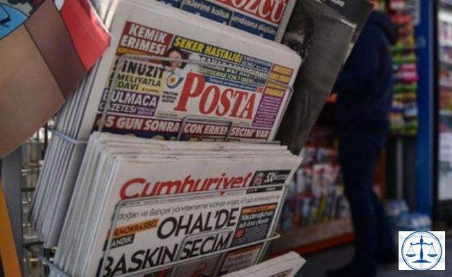 """Polis """"yoğunluk yaratıyor"""" deyip gazeteleri topladı"""