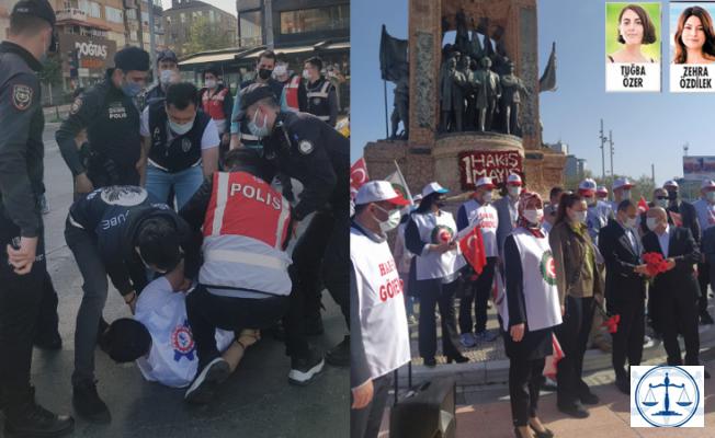 Taksim'e çıkmak isteyenlere sert müdahale!
