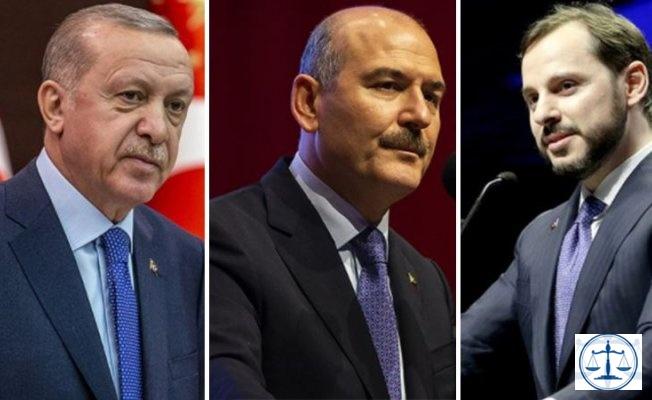 Erdoğan-Soylu-Albayrak hakkında suç duyurusunda bulunuldu