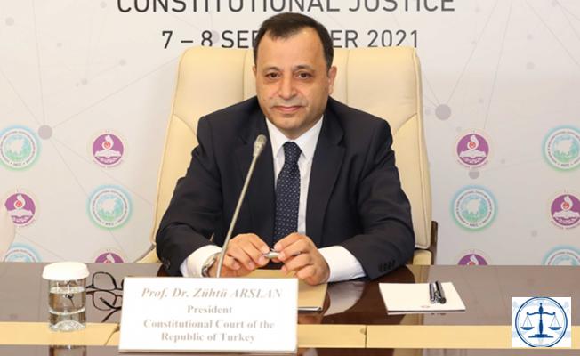 AYM Başkanı Zühtü Arslan'dan yerel mahkemelerin direnme kararına tepki