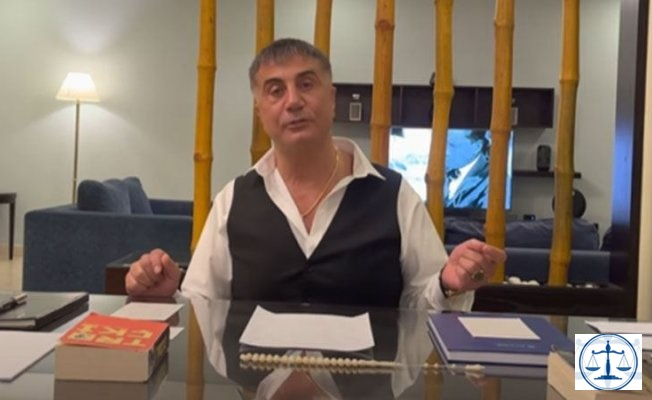 """Sedat Peker'e Erkam Yıldırım'a yönelik """"hakaret"""" ve """"iftira"""" suçundan dava"""