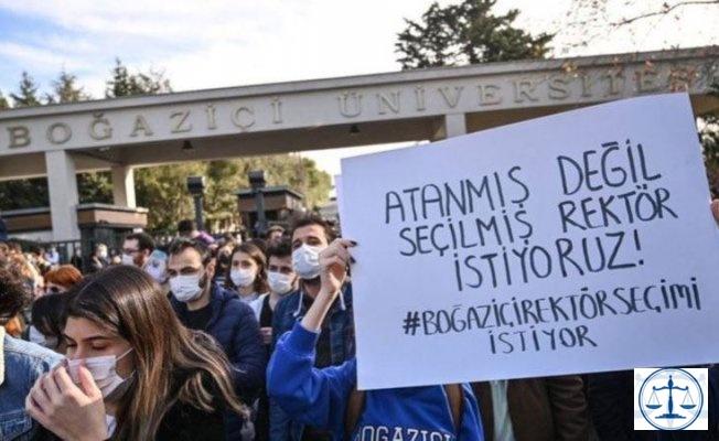 Boğaziçi Üniversitesi'nde gözaltılar!