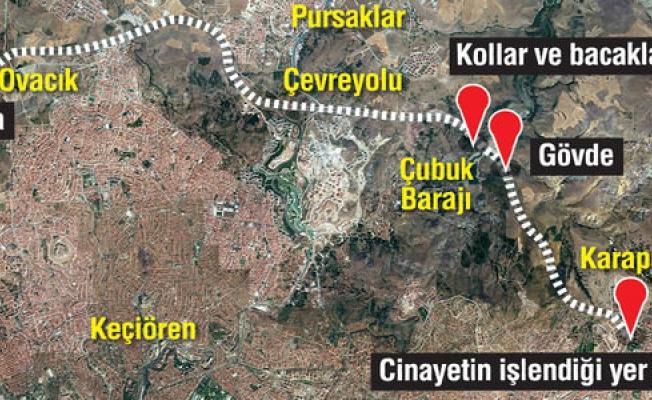 Ankara'da korkunç cinayet: Yeğenini öldürüp parçalara ayırdı