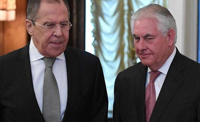 Lavrov ve Tillerson, telefonda Suriye'deki durumu görüştü