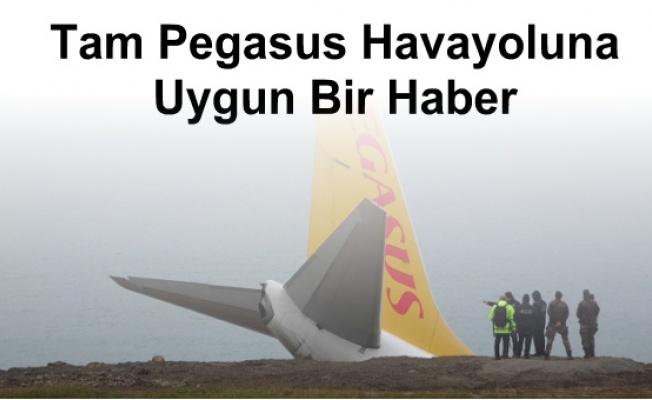 Pegasus Havayolları, Pistten Çıkan Uçaktaki 162 Yolcunun Tamamının Sadece 29.90 TL Ekstra Hizmet Bedeli Karşılığında Kurtarıldığını Açıkladı...