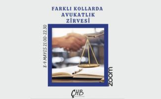 """Çukurova Hukuk Birliğinden"""" Farklı Kollarda Avukatlık Zirvesi"""" Konulu Etkinlik"""